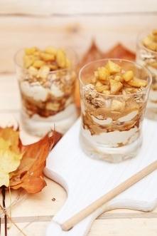 Deserki idealne na jesień ! Zapożyczone z cudownego bloga ! Takie deserki row...
