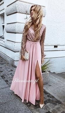 Prześliczna długa sukienka ...