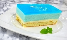 Ciasto Smerfetka bez pieczenia