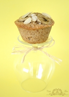 muffinki migdalowo bananowe