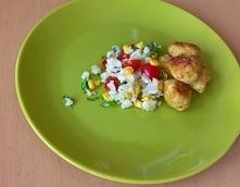 Starty kalafior do sałatki i pulpeciki drobiowe. Smacznie, kolorowo i zdrowo ...