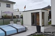 Domek saunowy w nowoczesnej...