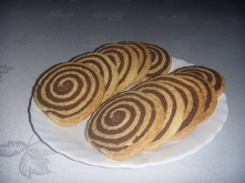Czarno- białe kruche ciaste...