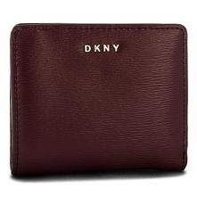 Mały Portfel Damski DKNY - Bryant Bifold Wallet R83Z3657 Blood Red XOD