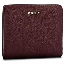 Mały Portfel Damski DKNY - Bifold Wallet R83ZA657 Blood Red XOD