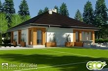 Kalandra III to nowoczesny parterowy dom przeznaczony na nowe osiedla i teren...