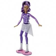 BARBIE DLT23 Gwiezdna surferka (światła i dźwięk) Lalka Barbie 3+