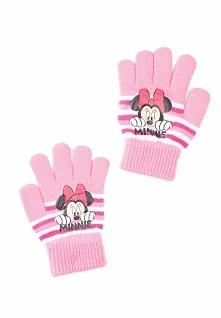 Jasnoróżowe Rękawiczki Tuck Up