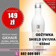 Global Keratin odżywka color shield UV/UVA 650ml GK Hair conditioner - sklep ...
