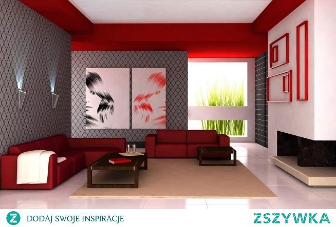 Jak Wam się podoba taka aranżacja z czerwonymi #ramami i obrazami na płótnie canvas? Jeśli macie jakiś pomysł, my go z chęcią zrealizujemy.