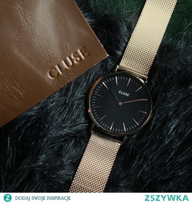 Zegarek Cluse na złotej bransolecie typu mesh to wyjątkowy model dla wszystkich kobiet, które cenią sobie elegancki, a zarazem nowoczesny design!