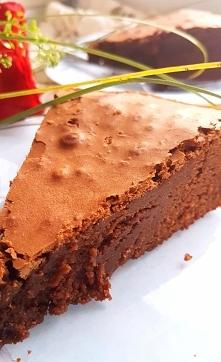 Przepis na mocno czekoladowe Brownie