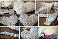 sweterkowa poduszka