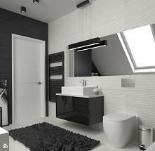 Nowoczesna łazienka od Vinso Projektowanie Wnętrz. Zajrzyj na naszego faceboo...