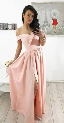 Sukienka maxi elegancka