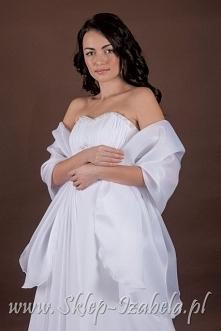 Szal do sukienki ślubnej