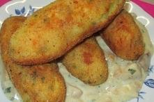 Krokiety ziemniaczane z ser...