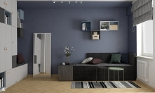 Propozycja młodzieżowej sypialni od Vinso Projektowanie Wnętrz. Zajrzyj na na...