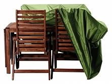 Pokrowiec na meble ogrodowe stanowi idealną ochronę przed deszczem, słońcem l...