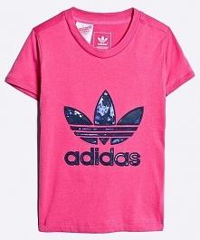 Koszulka dziecięca J BB Trefoil różowa r. 164 (AJ0035)