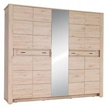Massimo szafa 9-drzwiowa 2 szuflady Dąb Bordeaux 21