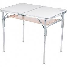 Stół składany turystyczny z siatką pod blatem DUŻY 90,0 x 60,0cm