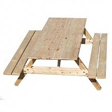 Stół ogrodowy Compact , ławostół , piwny 200x120