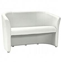 Sofa TM-2 biała ekoskóra biuro firma salon