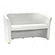 Sofa TM-3 biała ekoskóra poczekalnia salon