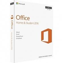 Microsoft Office 2016 Home and Student, licencja elektroniczna, Wszystkie języki