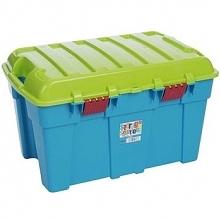 Plastikowy kufer pojemnik skrzynia narzędziowa 48 L Niebieski