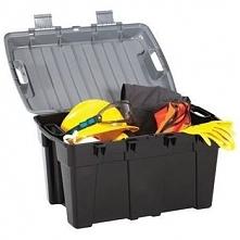 Plastikowy kufer pojemnik skrzynia narzędziowa 48 L Grafitowy