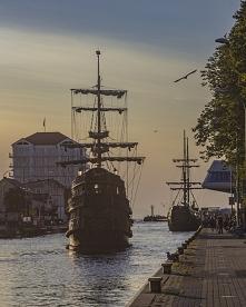 Statki wycieczkowe w Darłówku są udostępniane dla turystów. Najbardziej pożąd...