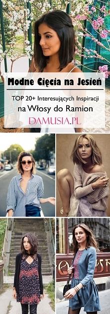 Modne Cięcia na Jesień: TOP 20+ Interesujących Inspiracji na Włosy do Ramion