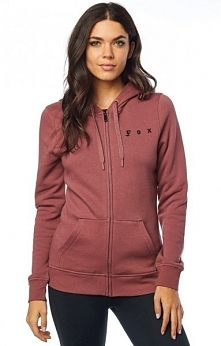 FOX Bluza Damska The Supper Fox Zip Xs Burgund