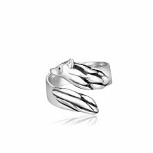Zjawiskowy Srebrny Pierścionek - srebro 925