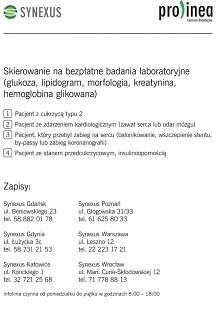 Moi Drodzy,  Udostępnijcie proszę ten post - na pewno komuś się przyda!!!  ✅ Zapraszam wszystkich do skorzystania z oferty BEZPŁATNYCH* badań diagnostycznych: glukoza, lipidogra...