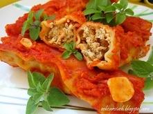 Cannelloni z mięsem mielony...