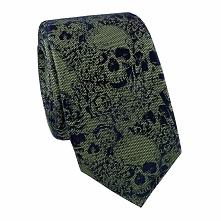 Krawat w czaszki KWZR000216