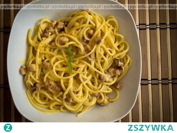 Sos carbonara do spaghetti Amelii