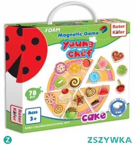 """Witajcie,   """"Prawdziwa"""" Pizza z dostawą do domu dla dzieci już od lat 3 - 70 dekoracji w zestawie:) ... marzenia:)  Gra magnetyczna ciasto na pizzę - Roter Kafer  Dziecko może stworzyć prawie """"prawdziwe"""" ciasto i ciastka, którym może poczęstować rodziców i przyjaciół.   Gra idealna na czas podróży pociągiem, podczas pikniku czy deszczowej pogody."""