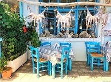 Restauracja na Lesbos w Grecji :) Puzzle na puzzlefactory.pl