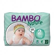 Pieluszki Bambo Nature r.2 MINI 3-6kg 180szt. (6x30)