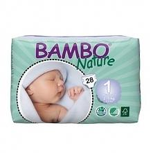 Pieluszki Bambo Nature r.1 Newborn 2-4kg 112szt. (4x28)