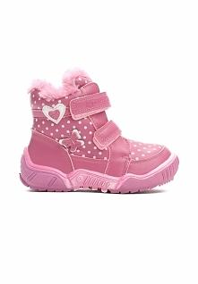 Różowe Botki Snow Cover