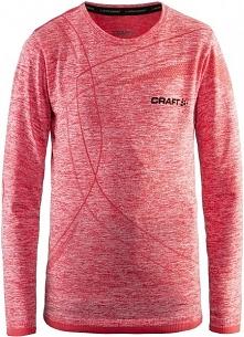 Craft Koszulka Dziecięca Active Comfort Jr Ls Czerwona 134/140