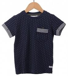 Primigi T-Shirt Chłopięcy 140 Ciemnoniebieski