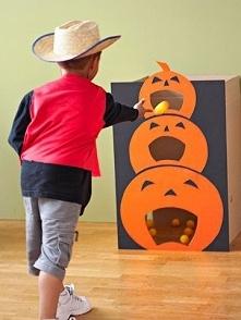 Świetna Halloweenowa zabawa dla dzieci - zarówno tych małych, jak i większych...