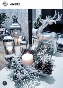 dekoracje świąteczne lampio...