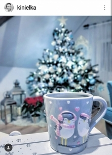 kubek świąteczny pingwiny d...